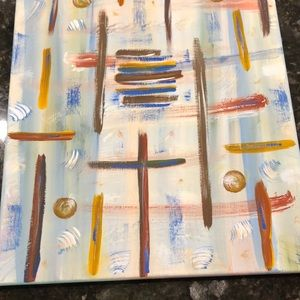 Abstract original painting 16 x 20 on canvas